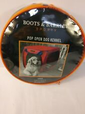 Boots& Barkley Sporty Pop open Dog Kennel - Large - Up to 70lb