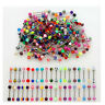 Wholesale 100 Lot 14g Tongue Rings Bar Balls Barbell Body Piercing Jewelry