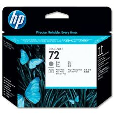 GENUINE & BOXED 2018 HP72 GRAY & PHOTO BLACK / C9380A PRINTHEAD - SWIFTLY POSTED