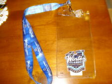 2016 NHL Winter Classic Ticket Holder, Lanyard, & Pin Bruins vs Canadiens W