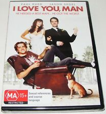 I Love You, Man--- (DVD, 2009, New & Sealed)
