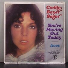 """(o) Carole Bayer Sager - You're Moving Out Today (7"""" Single mit Promobeilage)"""