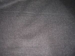 7 4/8 YDS WOOL P KAUFMANN BLACK MULTI PURPOSE UPHOLSTERY FABRIC FOR LESS