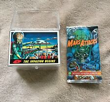 Topps 1994 Mars Attacks Archives trading cards complete 100 card set + wrapper
