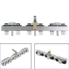 6 Cylinder Fuel Side Feed Injector Distributor Fuel Rail Kits For CT100 CNC602A