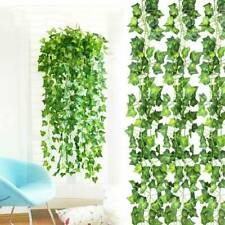 2.5M Artificial Grape Ivy Vine Leaf Garland Plants Green Fake Foliage Decoration