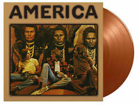 America - AMERICA Vinyl LP Numbered Flaming Gold NEW& SEALED 2020