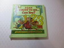 I Can Count To 100 . . . Can You? Katherine Howard vintage 1979 hardcover
