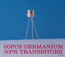 50 GERMANIUM TRANSISTORS NPN  MP11/МП11/ MILITARY IN   ORIGINAL BOX