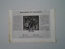 advertising Pubblicità 1941 ZEISS IKON NETTAR