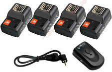 PT-04 Wireless Remote Flash Trigger with 4 Receiver Kit  fro DSLR camera