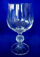Vintage BOHEMIA CRYST Crystal Wine Glass / Goblet - MORE AVAILABLE