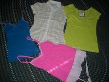 WOMAN SIZE SMALL SUMMER TOP / BLOUSE / TANK LOT~PINK, A. EAGLE, ABERCROMBIE, SO