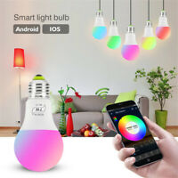 LED WiFi Dimmable RGB Smart Light Bulb for Alexa Google Home Remote Control Lamp