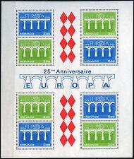 Monaco 1984 SG#MS1650 europa neuf sans charnière m/s #D40597