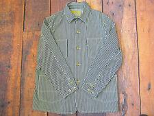 "Levi's Vintage Clothing Saco De Rayas Hickory Indigo/Trabajo Abrigo 46"" pecho BNWOT"