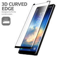 Full 4D Tempered Glass Screen Protector For Samsung Galaxy Note 8 Case Friendly