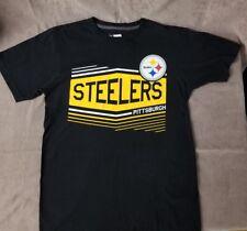 PITTSBURGH STEELERS Ring Spun Soft T- Shirt Tee Mens Size M - NFL Team Apparel