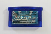 Pokemon Sapphire Nintendo Gameboy Advance GBA Japan Import New Battery AUTHENTIC