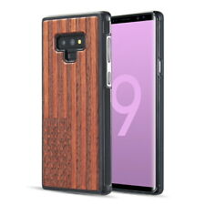 Samsung Galaxy Note 9 Real Wood Series - USA Flag