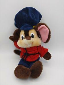 "Sears Fieval An American Tale Plush Toy Mouse Disney Vintage 13"""