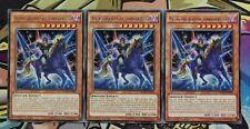 3x Auferstandner Gaia,zorniger Ritter BOSH-DE098 RARE PLAYSET DEUTSCH Yu-Gi-Oh