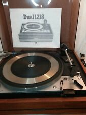 New listing Vtg United Audio Dual 1218 Turntable Record Player W/Dust Cover - Parts Repair