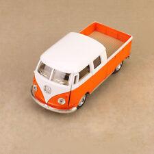 1963 Volkswagen Microbus Twincab Kombi Ute 1:34 Scale 12cm Diecast Model Orange