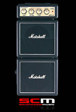 MARSHALL MS4 DOUBLE STACK MICRO GUITAR AMPLIFIER PORTABLE BATTERY OPERATION