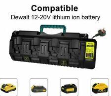 Charger For Dewalt Dcb104 18v 54v Flexvolt Xr 4 Port Li Ion Battery Dcb184 Uk
