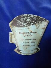 Vintage Dix & Rands Sewing Needle Book Reighard-Houser Coal Co. Akron Ohio