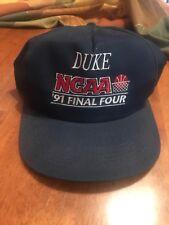 Vintage Duke Basketball 1991 NCAA Final four Snapback Hat Cap K-Products