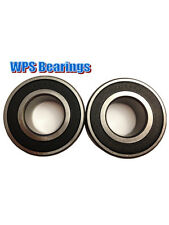 (Qty 2) 5205-2RS Double Row Angular Contact Ball Bearings 25mm x 52mm x 20.6mm