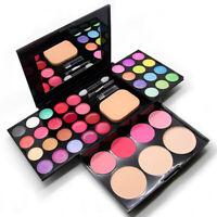 Pro 39 Color Eyeshadow Palette Blush Lip Gloss Makeup Beauty Cosmetic Set Kit UK