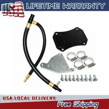 EGR Valve Cooler Delete Kit Fits For 2011-2015 GMC Chevy 6.6L Duramax LML Diesel