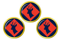 145 Sud Brigade, Armée Britannique Marqueurs de Balles de Golf