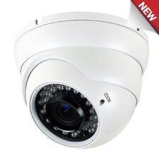 1800TVL 36 IR LEDs Night Vision IR CUT 2.8-12mm Varifocal Dome Security Camera