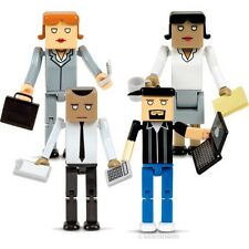 The Cubes 4 Action Figure Office Expansion Set!