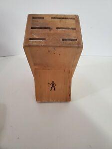 JA Henckels International Wooden Knife Block 6 Slots Block Only