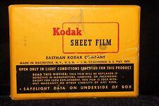 Vintage 1961 Kodak Sheet Film Orthochromatic 25 Sheets FACTORY SEALED