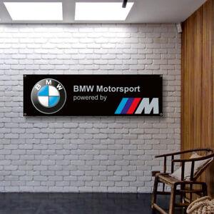 BMW Banner Vinyl / Canvas Advertising Garage Sign Poster Workshop Free Shipping