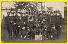 cpa France Carte Photo MILITAIRES SOLDATS du 3e Rgt d'Artillerie Lourde en 1914