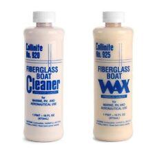 Collinite 920 Fiberglass Boat Cleaner & 925 Fiberglass Boat Wax Combo Pack