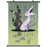 "Hot Japan Anime Pokemon Monster Eevee Home Decor Poster Wall Scroll 8""x12"" P21"