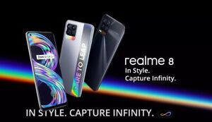 Realme 8  Global Version  - 128GB - Black Sea (Unlocked) And Silver