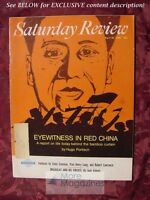Saturday Review April 30 1966 RED CHINA HUGH PORTISCH JACK VALENTI