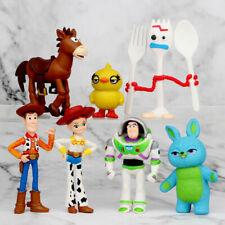 7 Pcs Disney Toy Story 4 Fokry Buzz Lightyear Woody Jessie Action Figure Model