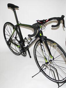 TIME Bici da Corsa Completa Izon  Nero/Verde