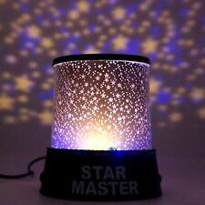 Proiettore Stelle lampada da tavolo notturna per bambino bambini luce led usb