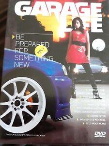 GARAGE LIFE Vol. 1 - Street cars - DVD ALL REGIONS #S